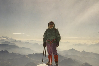 Footage of Pasang Lhamu Sherpa, featured in The Glass Ceiling.