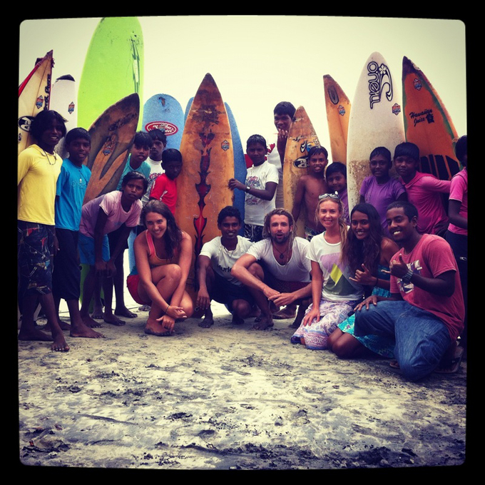 Beyond The Omens: Yoga And Surfing Girls That Surf