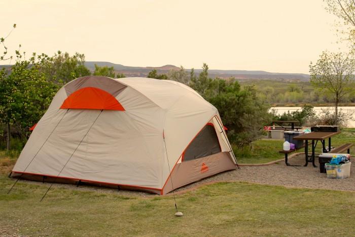 City Market Moab >> Big Tents : Kelty Parthenon 8 Tent Review