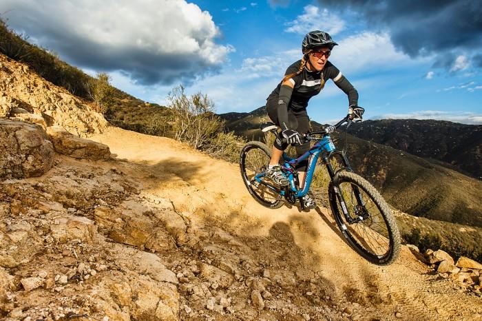 mountain biking trail wallpaper