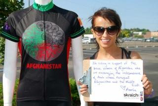 Shannon Galpin Global Solidarity Ride 1