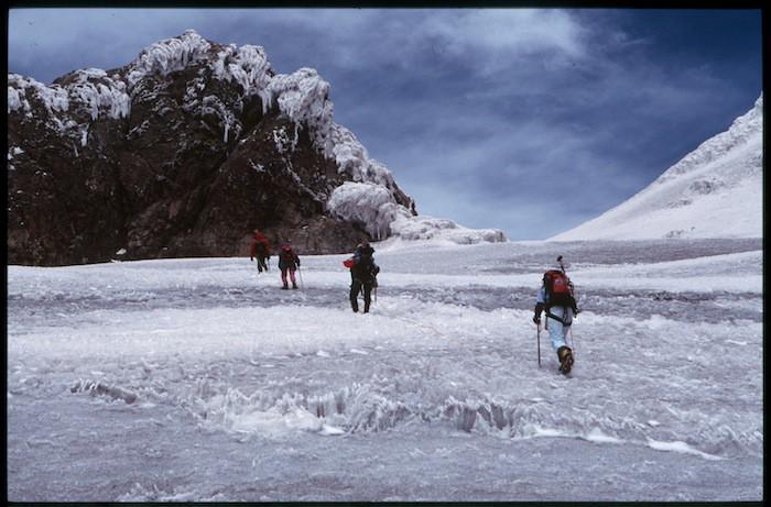 glacier crossin